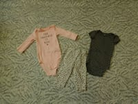 3-Piece Set Baby Girl The Snuggle Is Real Elephant Bottom Sleepwear Adelanto, 92301