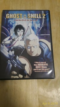 Ghost in the shell 2 anime dvd movie