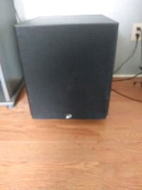 Powered subwoofer for house stereo works good on vibrate pictures off