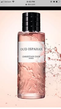 Christian Dior unisex parfu DESCRIPTION: PRODUCT FEATURES: Brand: Dior Fragrance Type: Eau de Parfum Size: 450ml Targeted Group: Unisex Fragrance Family: Floral & Fruity Perfume Name: Oud Ispahan Top Notes: Labdanum Middle Notes: patchouli Base Notes: San Reston, 20194