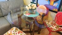 Dining/kitchen Glass table for sale