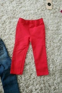 2T red jean leggings  Toronto, M9N 3H2