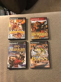 PS2 Cabela's Hunting/Fishing Games