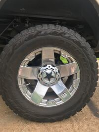 "20"" XD Rockstar with 37x12.5 toyo R/T for superduty. This is a full set   League City, 77573"