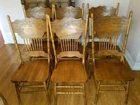 Beautiful Unique Set of 6 Table Chairs Salt Lake City, 84104