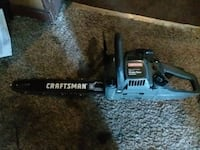 black and gray Craftsman chainsaw Peoria, 61602