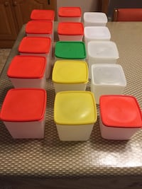 15 Freezer canning plastic containers  Morgantown, 26501