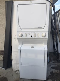 white stackable washer and dryer Edmonton, T5E