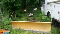 8.5 ft Myers plow with mounts and lights Castleton, 22716