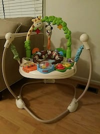 baby's white and green Fisher-Price jumperoo Virginia Beach, 23456