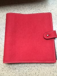 Red felt photo album—20 pages/80 pockets Boonville, 47601
