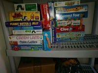 Assorted Name Brand Board games. Christmas is around the corner!!! Baltimore, 21207