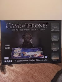 Game of Thrones 4D Westeros & Essos Puzzle  Langley, V2Y 1B5