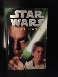 STAR WARS ROGUE PLANET 1st Edition (2000) Hardcover Book by Greg Bear Orlando, 32824