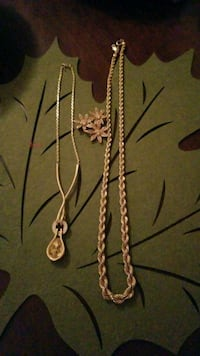Monet chain,necklace and brooch 776 km