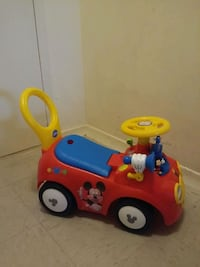 activity ride-on mickey mouse