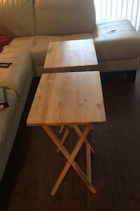 Two TV Tables