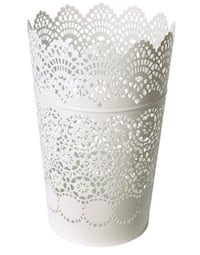 14 White lace candle holders Gaithersburg, 20886