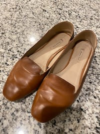 Massimo Dutti Loafers Brown US Size 9