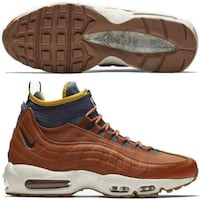 NIKE AIR MAX 95 SNEAKER BOOT HIKING TRAIL RUNNING RUSSET THUNDER  [TL_HIDDEN]