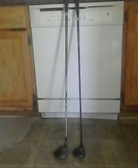 two gray-and-black golf clubs Hampton, 23666
