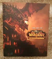 BOOK   The Art of World of Warcraft CATACLYSM   Handcover with dust ja Newmarket