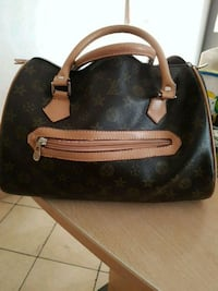 borsa Louis Vuitton in pelle nera e marrone Verolengo, 10038