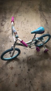 toddler's gray and pink bicycle Upper Marlboro, 20774