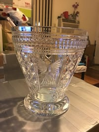WATERFORD CRYSTAL MILLENNIUM CHAMPAGNE ICE BUCKET VERY HEAVY  Concord, 94520