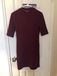 Maroon Ribbed Bodycon Dress Baltimore, 21207