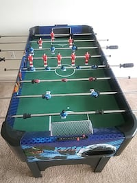 black, green, and blue foosball table Tennessee, 37076