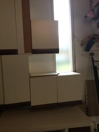white wooden cabinet with mirror Vaughan, L4L 3L4