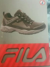 black and gray Fila shoe box Calgary, T2A 6R9
