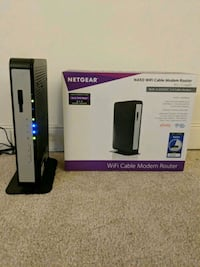 Netgear N450 Cable Modem Router Bethesda