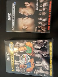UFC Ultimate fighter ( 1 and 3 ) ufc .