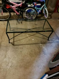 Rod Iron coffee table glass  Germantown, 20874