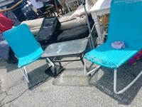 2 roking chairs and table  Fayetteville, 28304