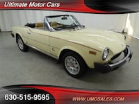 1982 Fiat 2000 Spider Downers Grove