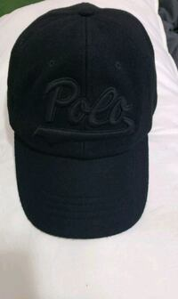 black and gray fitted cap Queens, 11370