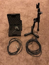 AKG D112 Bass Mic with stand Gainesville, 20155
