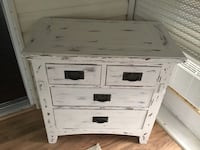 Shabby Chic Cabinet or dresser with 4 drawers 792 mi
