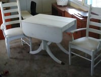 white wooden table with chairs Nokomis, 34275