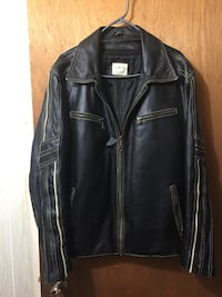Biker Large Leather Jacket