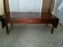 Coffee Table Solid Cherry Wood