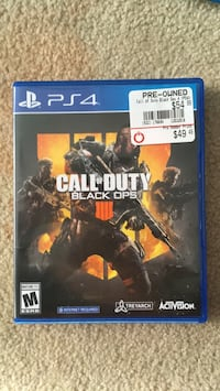 Black ops 4 for PS4  Annandale, 22003