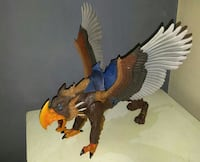 MOTUC gray and brown griffin toy