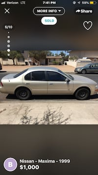 nissan maxima - 2001 Apache Junction, 85120