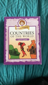 Countries of The World - Professor Noggins Game Acton, L7J 2H9