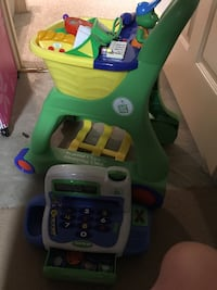 leap frog electronic shopping cart and cash register  43 km