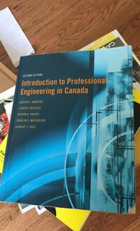Introduction to professional engineering Canada  Mississauga, L5N 3G5